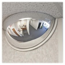 Half-Dome Convex Security Mirror