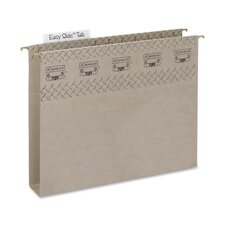 Hanging File Folder/W Easy Slide, LT, EXP2, 18/BX, SGY