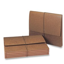 "Expanding Wallet, 11-3/4""x9-1/2"",5-1/4"" Exp,10 per Box , Leather-Like"