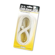 Coiled Phone Cord, Plug/Plug