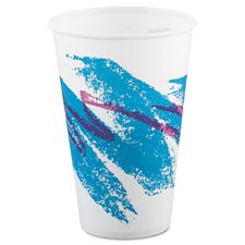 Jazz 12 oz. Waxed Paper Cold Cups (Set of 2000)