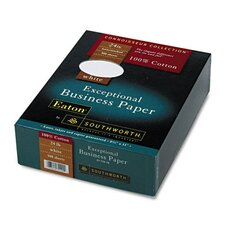 100% Cotton Business Paper, 24 Lbs., 500/Box