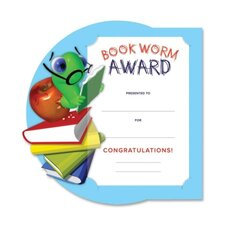 Bookworm Award Certificate Kit
