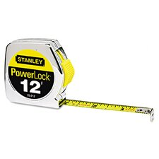 Metal 12' PowerLock Tape Measure