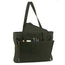 Ladies Business Tote with Removable Laptop Sleeve