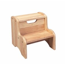 Two Step Stool in Natural