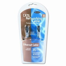 High Performance Cat6 UTP Patch Cable, 3ft, Gray