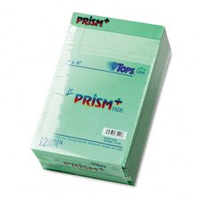 Prism Plus Colored Jr. Legal Pads, 50-Sheet Pads, 12/Pack