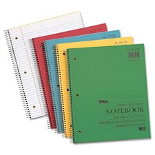 Kraft Subject Notebook, College Rule, 80 Sheets