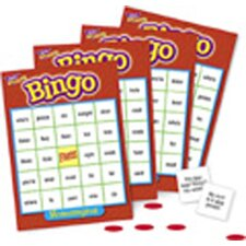 Bingo Homonyms Ages 9 & Up