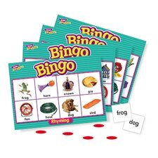 Bingo Rhyming Ages 4 & Up