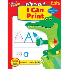 I Can Print Z-b 28pg Wipe-off Books
