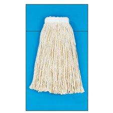 Rayon Fiber Cut-End Mop Head in White