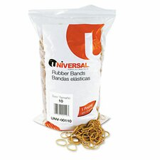 Rubber Bands, 3400 Bands/1 lb Pack