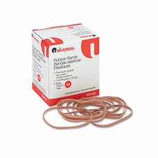 Rubber Bands, 160 Bands/0.25 lb Pack