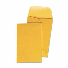 Kraft Coin Envelope, #1, 500/Box