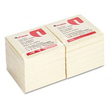 Fan-Folded Pop-Up Notes, 12 100-Sheet Pads/Pack