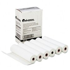 Economical Thermal Facsimile Paper, 6/Carton