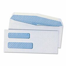 Double Window Business Envelope, #8.63, 500/Box