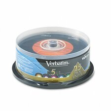 Spindle Digital Vinyl Cd-R Discs, 700Mb/80Min, 25/Pack