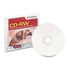 Imation Cd-Rw Disc, 700Mb/80Min, 4X, 1/Pack