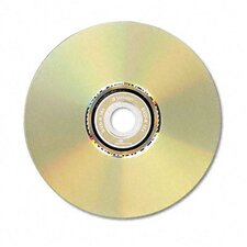 DVD-R Light scribe Discs, 4.7GB, 16x, Spindle, Gold, 30/Pack