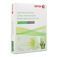Color Xpressions Elite Paper, 100 Brightness, 28Lb, 8-1/2 X 11, 500 Sheets/Ream