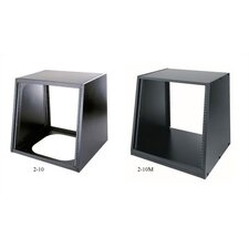 "Slim 2 Series 10 Space (17 1/2"") Black Desktop Turret"