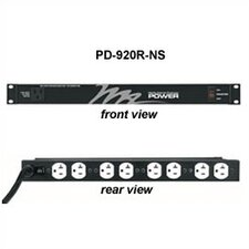 115 Volt Rackmount Power Strip (20 Amp)