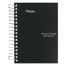 "Notebook, College Ruled, 200 Sheets, 5-1/2""x4"", Assorted"