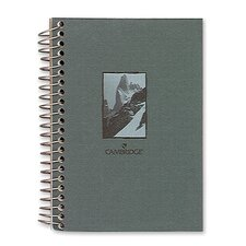 "Notebook, Wirebound, College Ruled, 140 Sheets, 5""x7"", Design Cover"