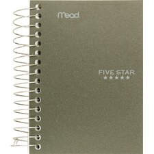 "5.5"" x 4"" Five Star Fat Lil' Wirebound Notebook"