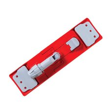 Restroom Mop Holder in Red