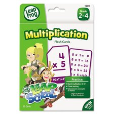 Leapfrog Multiplication Flash Card