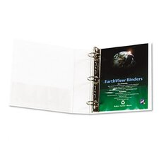 Earthview Round Ring Presentation Binder, 2in Capacity