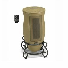 Ceramic Tower Electric Space Heater with Adjustable Thermostat