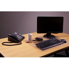 Desktex Polycarbonate Anti-Slip Desk Mats (Pack of 30)
