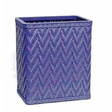 Elegante Decorator Color Wicker Wastebasket