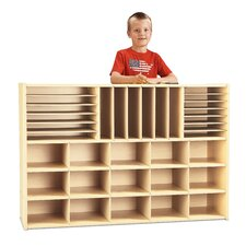 Sectional Storage Cubbie without Trays