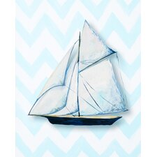 Nautical Ship Paper Print Art