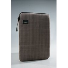 Plaid Laptop Sleeve in Brown