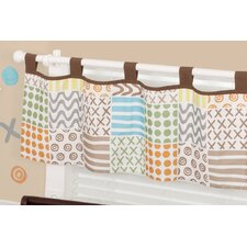 Doodles Tab Top Tailored Curtain Valance