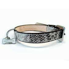 Snakeskin Collar in Silver