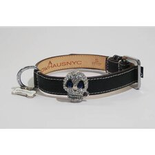 Skull Collar in Black