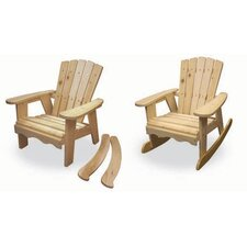 2-in-1 Deluxe Kid's  Rocking Chair