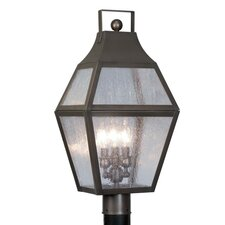 "Augusta 3 Light 11.25"" Post Lantern"