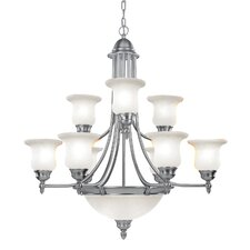 Belle Meade 9 Light Chandelier
