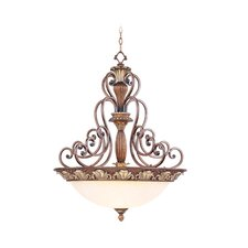 Savannah 4 Light Inverted Pendant