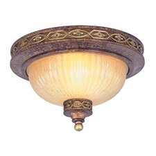 Seville 2 Light Flush Mount