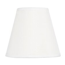 Hardback Clip Chandelier Shade in White